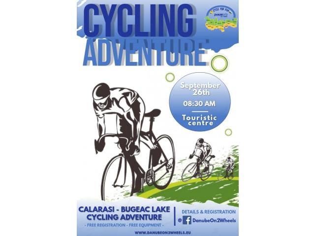 Tură de aventură cu biclele pe traseul Călărași – lacul Bugeac