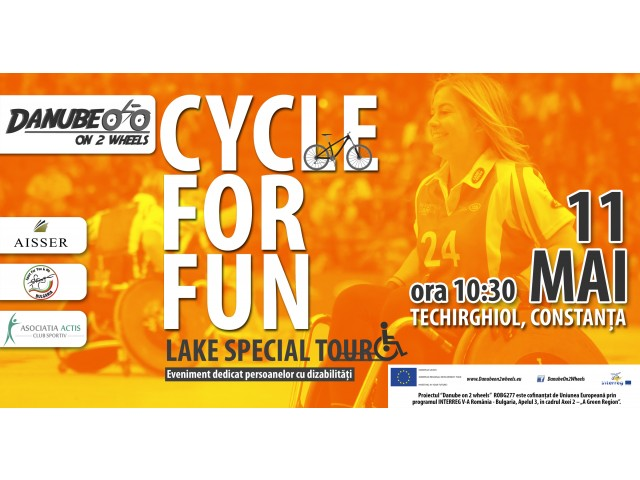 CYCLE for FUN – Techirghiol Lake Special Tour