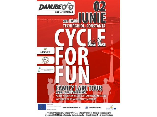 CYCLE for FUN – Family Lake Tour
